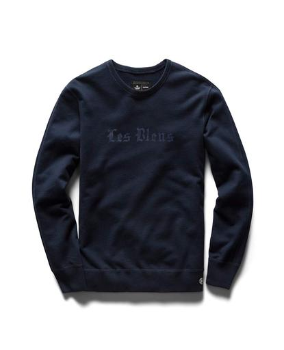 Victory Les Bleus Mid Weight Terry Crewneck Navy