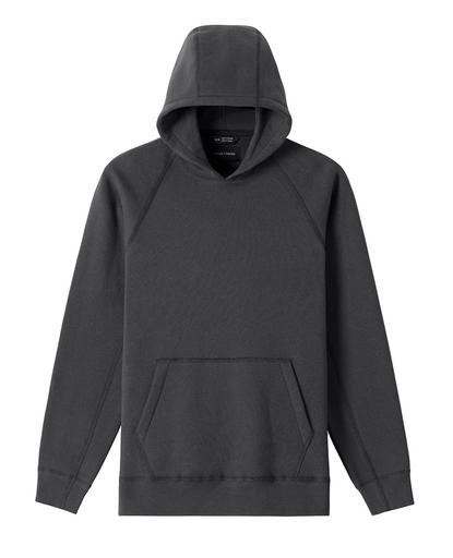 Heavyweight Fleece Hooded Pullover Charcoal