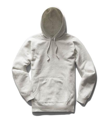 Machine Engineered Pullover Hoodie Heather Ash