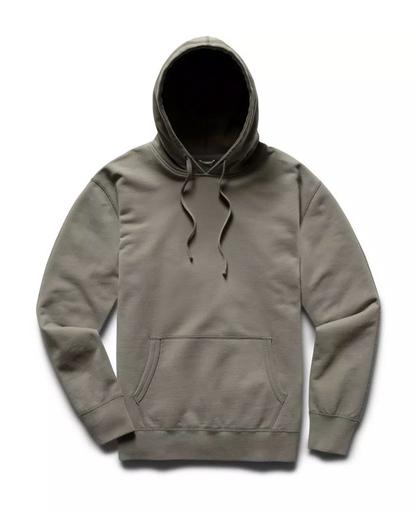 Pullover Hoodie Midweight Terry Sage
