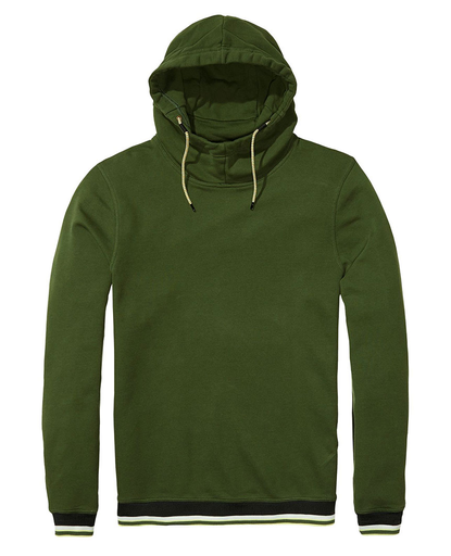 Sporty Hoodie - Military Green
