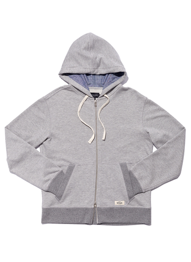 FRENCH TERRY - HEATHER GREY