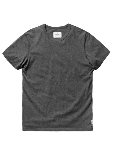 Knit Cotton Jersey - Heather Charcoal