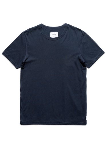 Knit Cotton Jersey Navy
