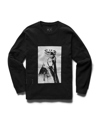 Weeping Eye Long Sleeve Heavyweight T-Shirt Black