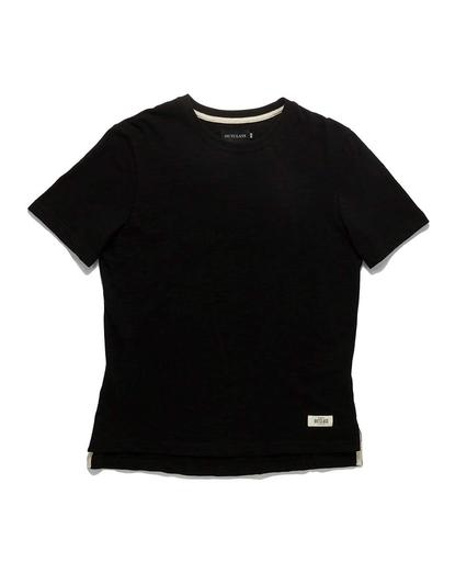 Black Slub  S/S T-Shirt
