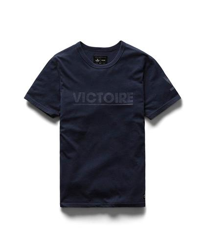 Victory Journal Victoire Pima Jersey Navy
