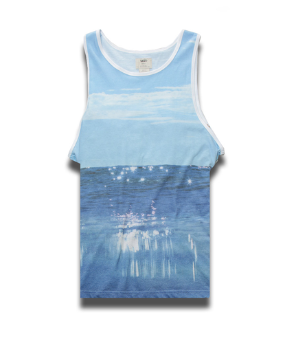 Adair Tank Top - Blue