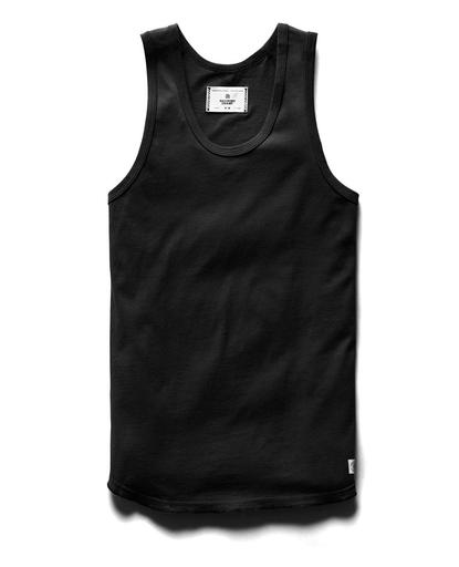 Tank Top Ringspun | Black