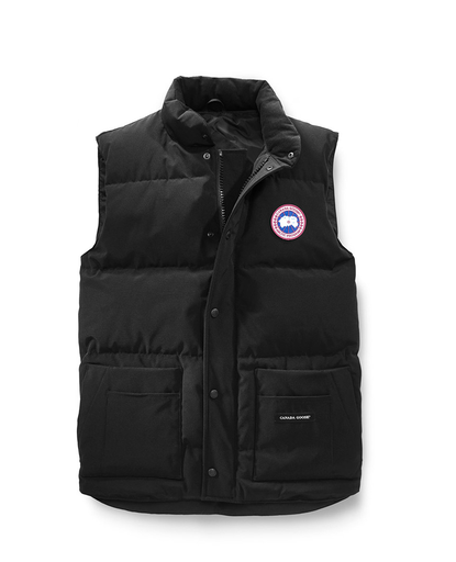 Freestyle Crew Vest Black - Mens