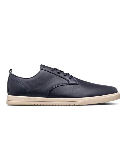 Ellington Deep Navy Milled Leather
